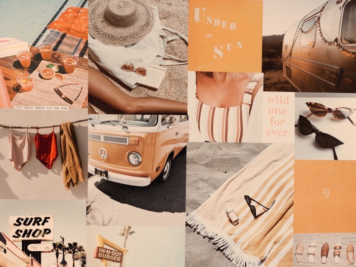 3 Ways to be Happier This Summer + Summer Mood Board