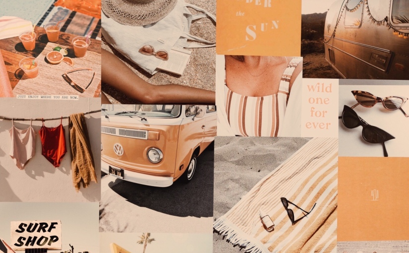 3 Ways to be Happier This Summer + Summer MoodBoard