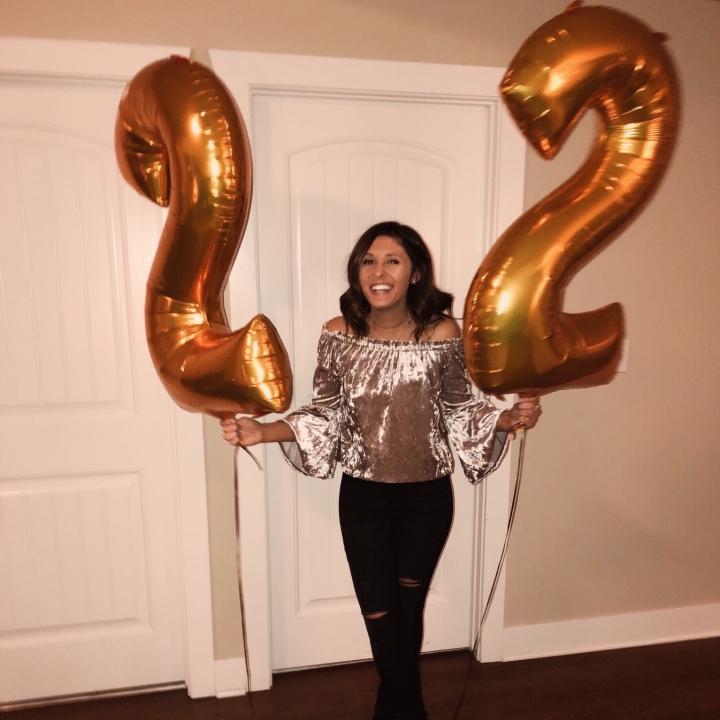 22 by 22